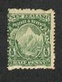 NEW ZEALAND 1898 Pictorial ½d Green. Basted Mills Paper. Perf 11x14. - 75022 - Mint