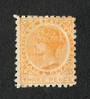 NEW ZEALAND 1882 Victoria 1st Second Sideface 3d Yellow with advert 2nd setting in Brown. - 75114 - Mint