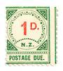 NEW ZEALAND 1899 Postage Due 1d Red and Green. - 75277 - UHM
