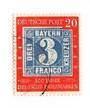 WEST GERMANY 1949 Centenary of the First German Stamps 20pf Grey-Blue and Vermilion. - 75461 - FU