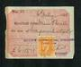 NEW ZEALAND 1921 Receipt from Brain's Commercial College Hamilton with Geo 5th 2d Yellow. - 76123 - Fiscal