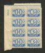 NEW ZEALAND Ration Coupons Meat. Block of 8. - 77203 - Cinderellas