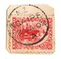 NEW ZEALAND Postmark New Plymouth NGAIRE. A Class cancel on 1d Universal on piece. Complete and clear. - 79626 - Postmark