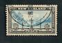NEW ZEALAND Postmark Wellington KAREHANA BAY. Telegraph. Part strike on 9d Peace. - 79776 - Postmark