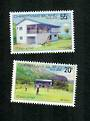 CHRISTMAS ISLAND 1980 25th Anniversary of the Christmas Island Golf Club. Set of 2. - 81682 - UHM