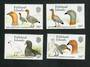 FALKLAND ISLANDS 1988 Geese. Set of 4. - 90013 - UHM