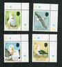 FALKLAND ISLANDS 1990 Black-Browed Albattross. Set of 4. - 90019 - UHM
