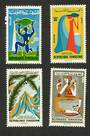 TUNISIA 1965 Mineral Waters. Set of 4. - 90893 - UHM