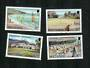 MONTSERRAT 1986 Tourism. Set of 4. The Golf stamp has an impercetible hinge mark. - 91684 - LHM