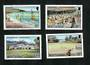 MONTSERRAT 1986 Tourism. Set of 4. - 91685 - UHM