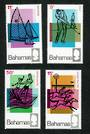 BAHAMAS 1968 Tourism. Set of 4. - 91688 - LHM