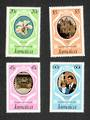 JAMAICA 1981 Royal Wedding of Prince Charles and Lady Diana Spencer. Set of 4. - 94613 - UHM