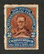 NEW ZEALAND 1906 Christchurch Exhibition Label #2 Maori. - 95338 - MNG