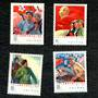 CHINA 1977 Peoples' Liberation Army Day. Set of 5. - 95934 - Mint