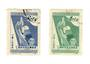 CHINA 1952 International Child Protection Conference. Set of 2. - 9656 - FU