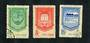 CHINA 1958 Completion of the Five Year Plan. Set of 3. - 9724 - FU