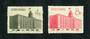 CHINA 1958 Opening of the Peking Telegraph Building. Set of 2. - 9725 - FU